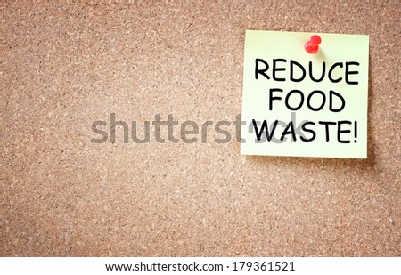reduce food waste concept. room for text. - stock photo