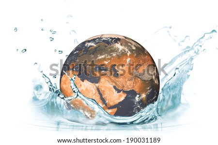 "Reduce global warming Earth Concept on World Environment Day  ""Elements of this image furnished by NASA"" - stock photo"
