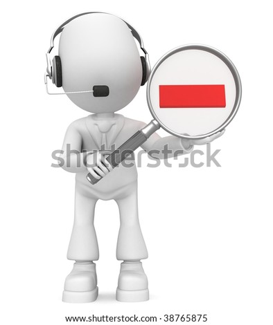 reduce (headphones) - stock photo