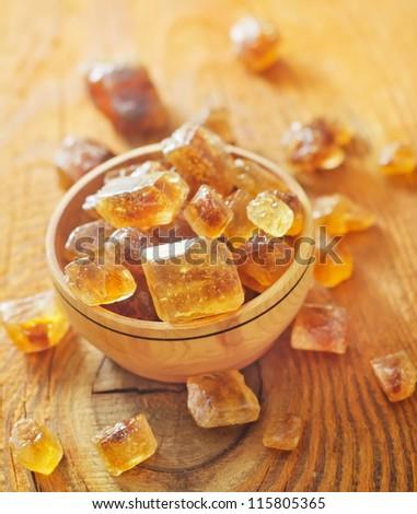 reed sugar - stock photo