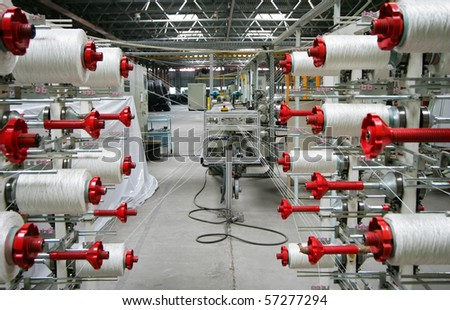 Reels with threads - stock photo