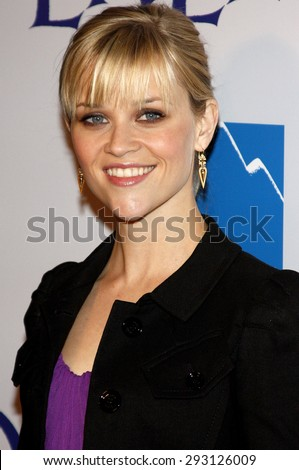 Reese Witherspoon at the Los Angeles premiere of 'Penelope' held at the Directors Guild of America Theater in Los Angeles on February 20, 2008.