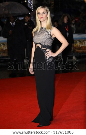 Reese Witherspoon attends a screening of 'Wild' during the 58th BFI London Film Festival at Odeon Leicester Square on October 13, 2014 in London, England.