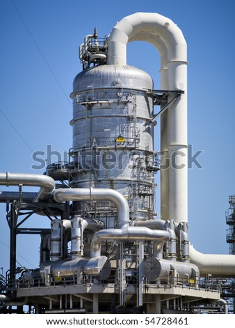 Refinery in Rotterdam, Holland