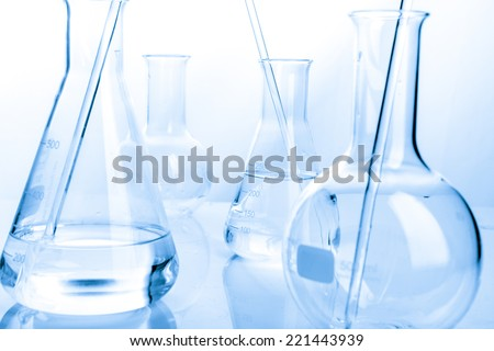 Refinery Laboratory Lab Tube, white background