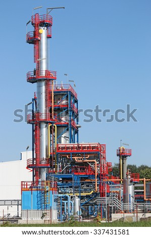 refinery oil industry  - stock photo
