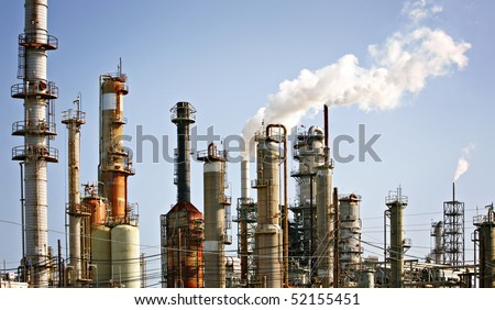 Refinery plant, oil industry (1)