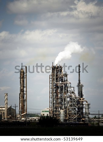 Refinery plant, Oil Industry(3) - stock photo