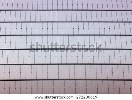 reflecting sky in glass of office building ;geometric  abstract background