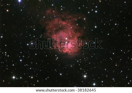 Reflection Nebula in Cepheus - stock photo