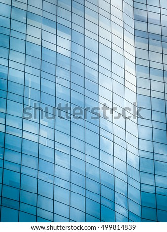 Reflection of modern glass / Used for texture and background