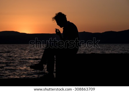 reflections - stock photo