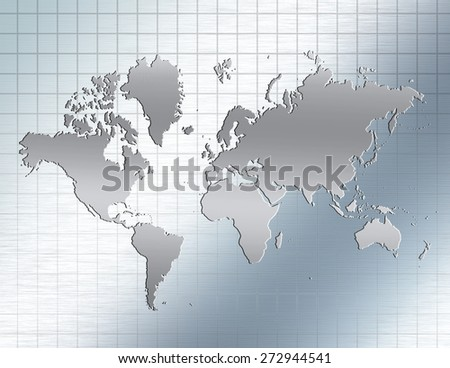 Reflective Earth Elements of this image furnished by NASA - stock photo