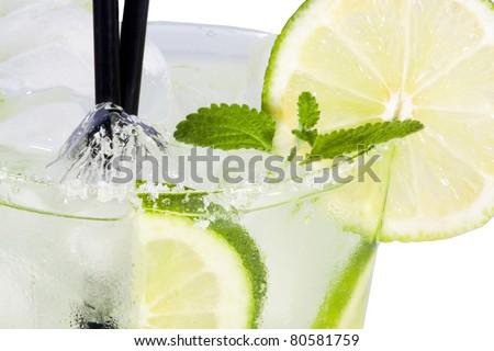 refresco de lima - stock photo