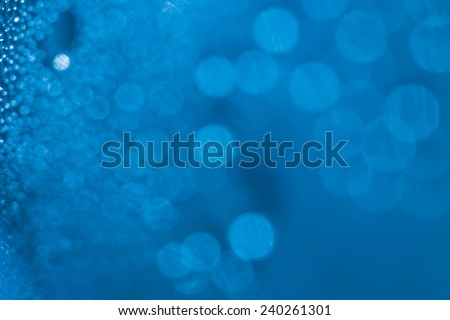 Refreshing green watery background (shallow DOF) - stock photo