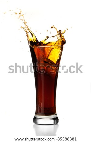 refreshment - stock photo