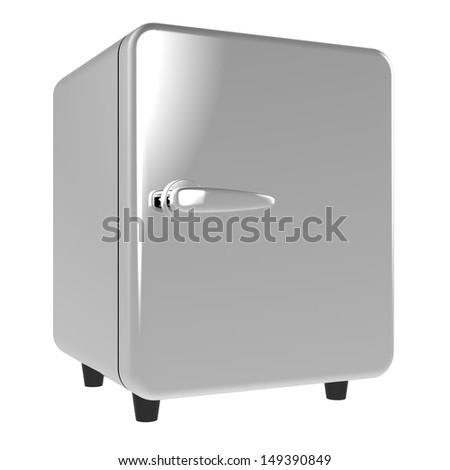 Refrigerator - stock photo