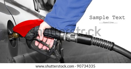 Refueling driver with space for your text.
