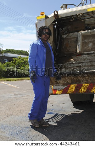 Refuse removal worker