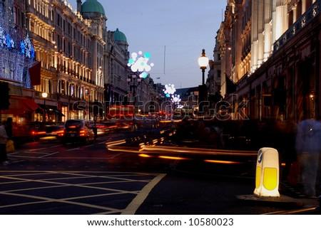 Regent Street, London - stock photo