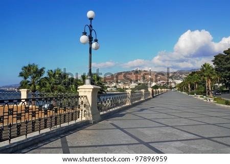 Reggio di Calabria - stock photo