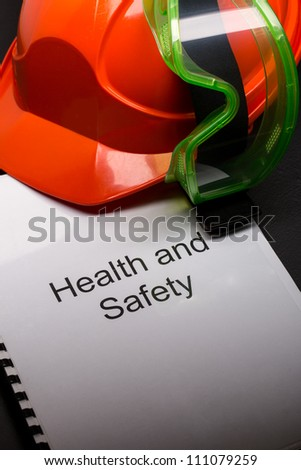 Register with goggles and helmet - stock photo