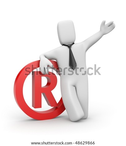 Registered - stock photo
