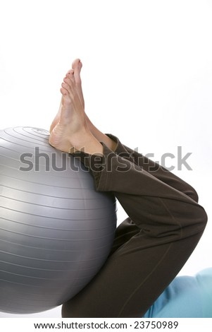 rehab with an exercise ball