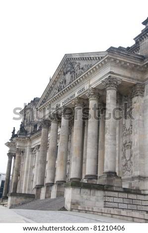 Reichstag, Berlin - stock photo