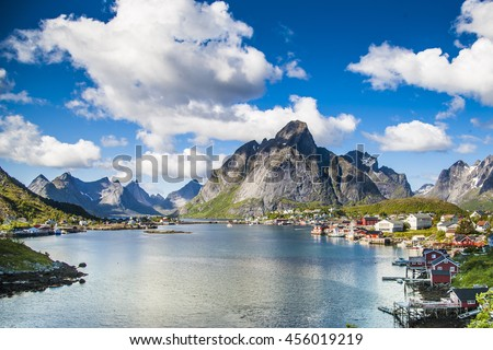 Reine of the Lofoten islands