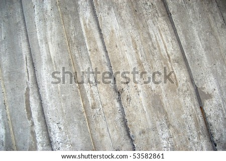 Reinforced concrete background