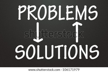 relation of problem and solution