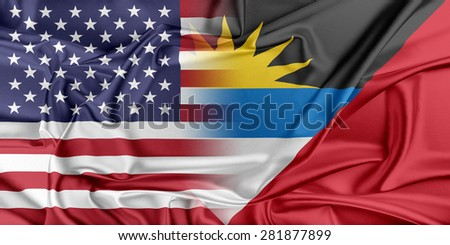 Relations between two countries. USA and Antigua and Barbuda