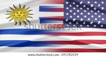 Relations between two countries. USA and Uruguay.