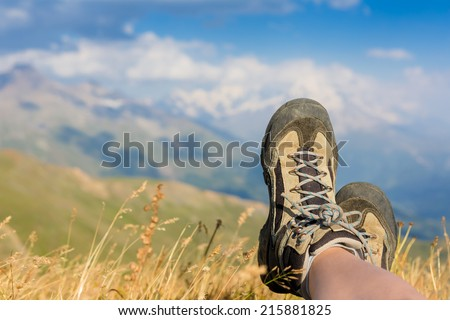 Relax in Nature - stock photo