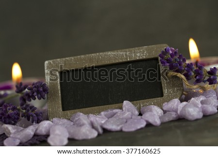 relaxing and well being  - stock photo