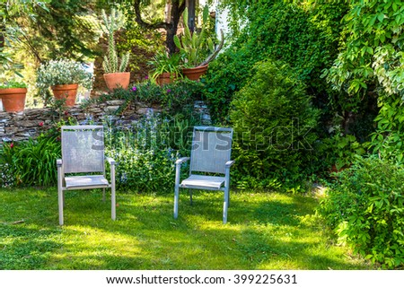 beautiful garden stock images, royalty-free images & vectors