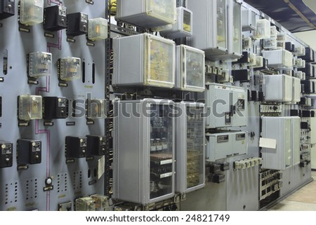 Relay of the automation Main managerial system to stations. Heat power station