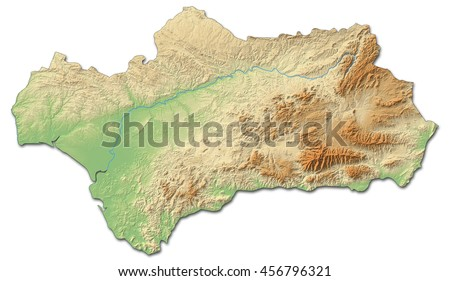 Andalusia Map Stock Images RoyaltyFree Images Vectors - Map of andalusia