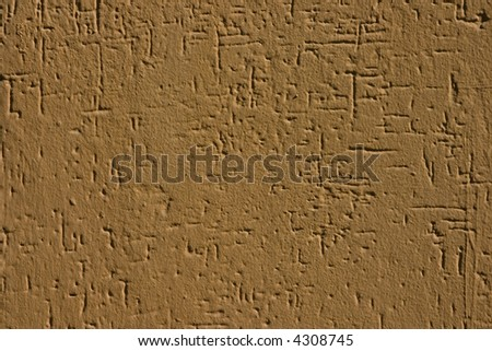 relief plaster wall - vertical and horisontal scratches