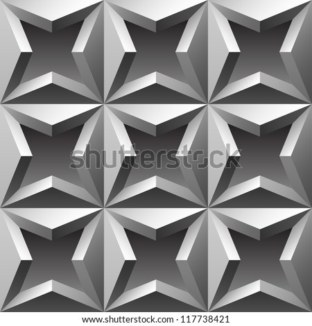 relief seamless background illustration - stock photo