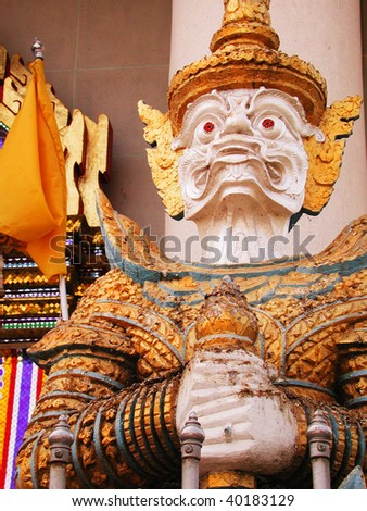 Religious god sculpture for worship