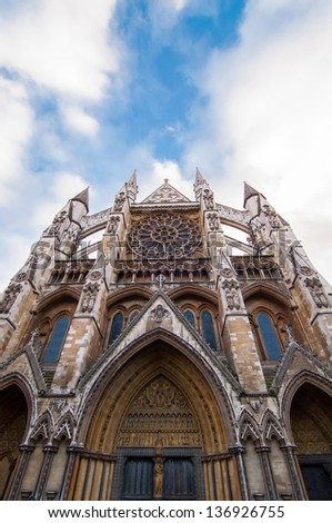 Remarkable Westminter Abbey, London, UK - stock photo