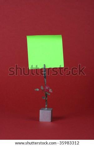reminder note - stock photo