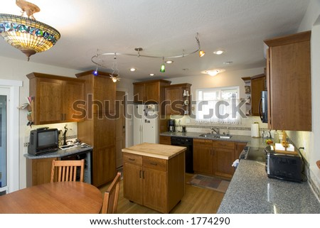Remodeled Arts & Crafts Kitchen