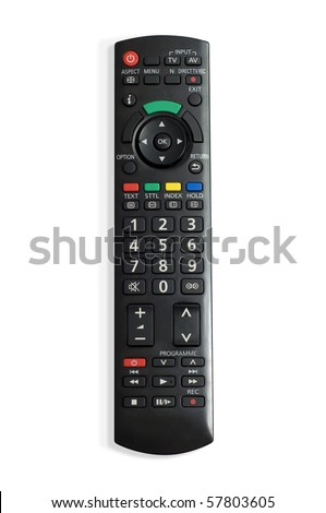 remote control - stock photo