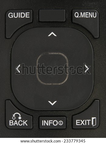Remote control background - stock photo