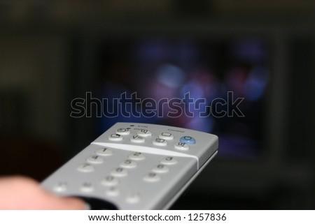 Remote control (very shallow DOF) - stock photo