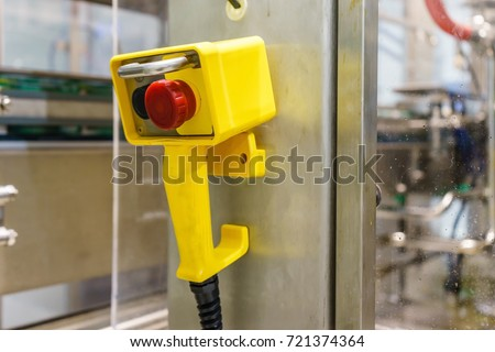 Remote Jog Handle Control On Filling Stock Photo 721374364