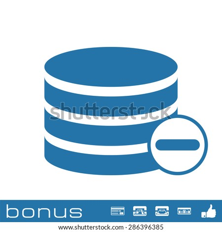 remove database icon